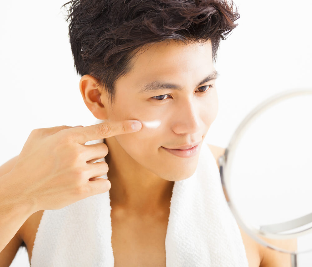 men skin care treatment